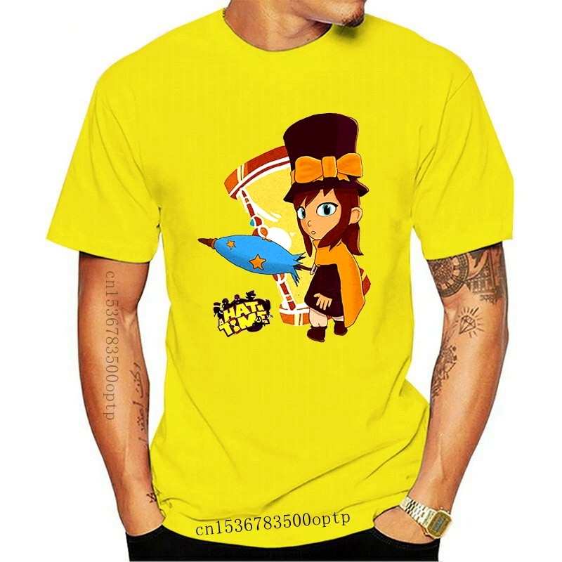 New Printed Men T Shirt Cotton O-Neck tshirts A Hat in Time Hat Kid! (Color) Short-Sleeve Women T-Shirt