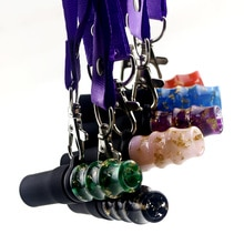 Reusable Hookah Mouthpiece with Lanyard Shisha Mouth Tips Silicon for Water Pipes Accessory