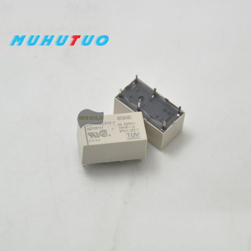 1PCS DSP1-DC5V-F DSP1-DC12V-F DSP1-DC24V-F 6pin 5A AGP2013F AGP2014F AGP2019F módulo de relé