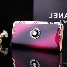 Nouvelle mode femmes portefeuilles longue multi-fonctionnelle portefeuille en cuir verni porte-monnaie femme fermeture éclair pochette monederos para mujer