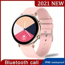 2021 New Bluetooth Call Smart Watch Women IP68 Waterproof Heart Rate ECG PPG Monitor Men Smartwatch