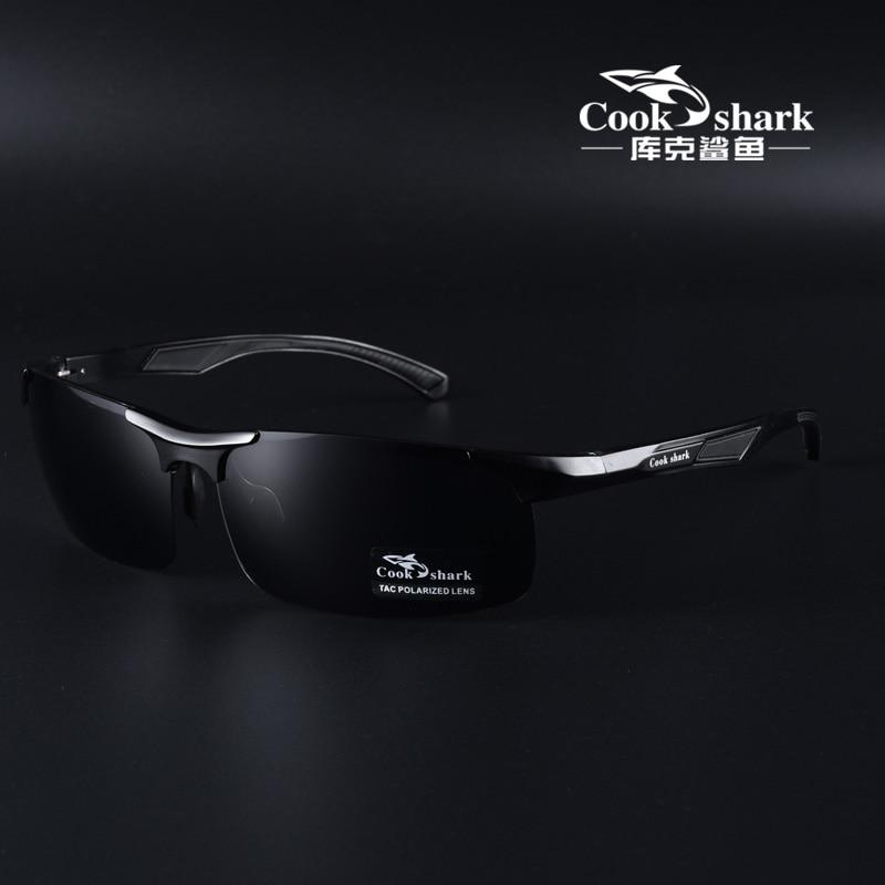 كوك شارك-نظارات شمسية مستقطبة للرجال ، ثنائية الاستخدام ، متغيرة الألوان ، للقيادة ، للقيادة فقط ، ليلا ونهارا