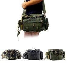 Multifunctional Waterproof Fishing Bag Outdoor Sports Waist Pack Fishing Lures Gear Storage Bag Sing