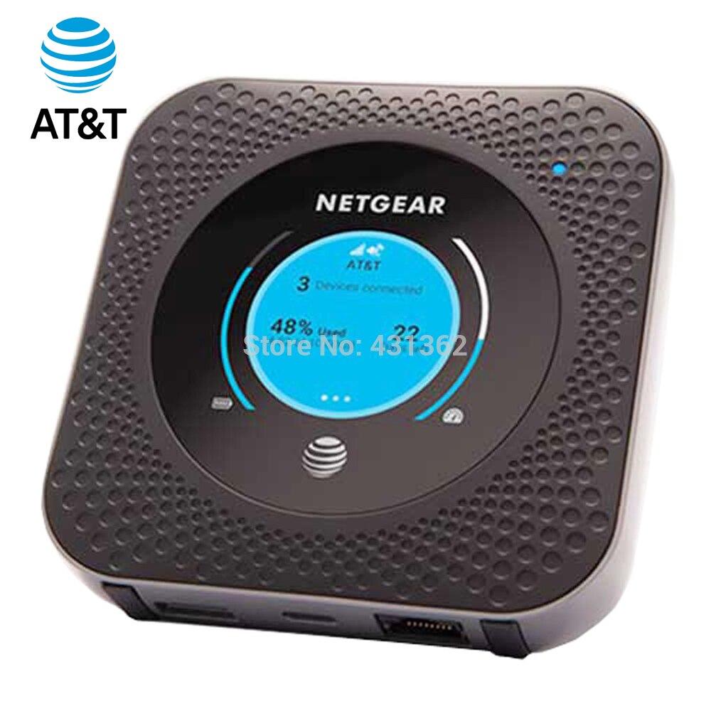 Netgear AT&T MR1100 Cat16 1Gbps Nighthawk 4G LTE enrutador con punto de acceso móvil apoyo B1/B2/B3/B4/B5/B7/B12/B29/B30B/66