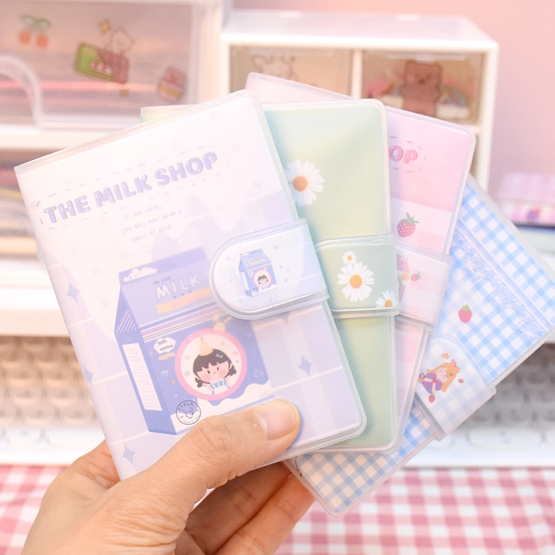 Small Notebook Cute Girl Korean Birthday For Women Gift Creative Notepad Kawii College Student Soft Printed Color Diary Journal