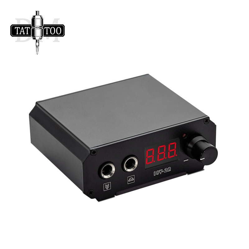 Digital LCD Tattoo Power Supply Professional Strong  Magnetic Tattoo Machine Power Supply