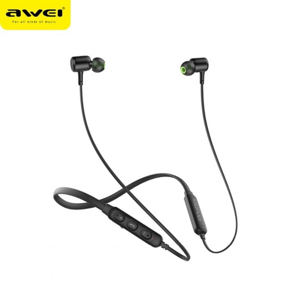 Awei G30BL беспроводные магнитные спортивные наушники с шейным ободом Bluetooth гарнитура портативные аудио и видео аксессуары