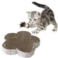 1pc wear resistant cat scratch pad cat scratch pad pet supplies kitten corrugated paper pad pet toy grinding nail scraper mat