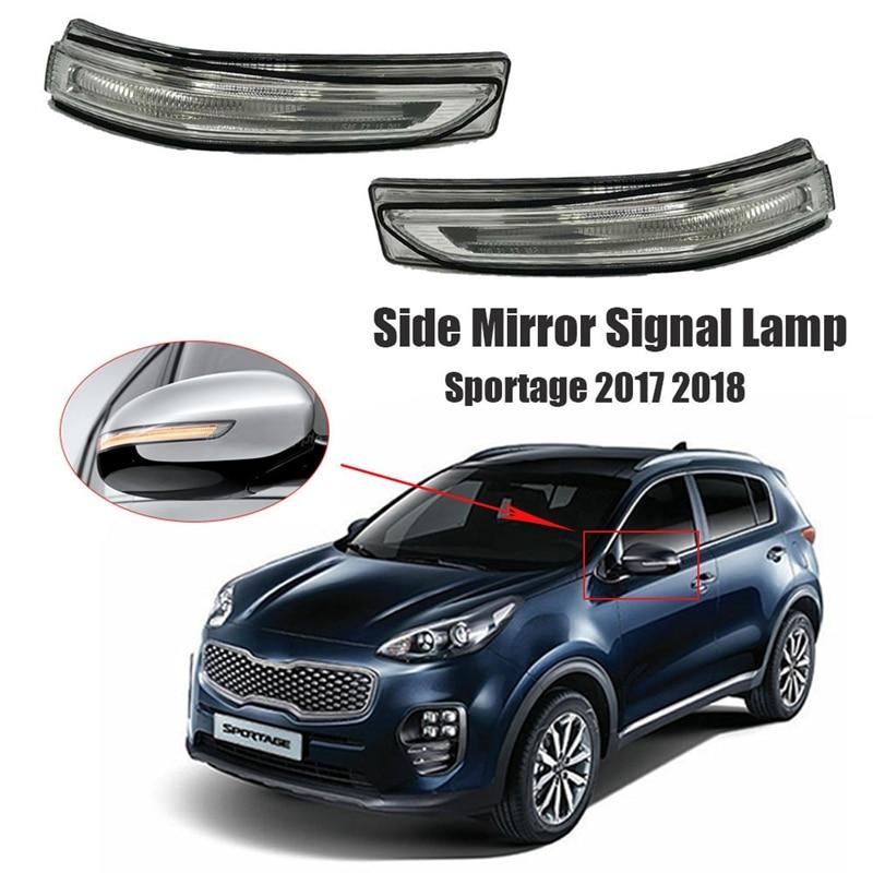 Rearview Mirror LED Turn Signal Lamp Flashing Light Side Mirror Signal Lamp for Kia Sportage 2017 2018 87624D9000 CN(Origin)