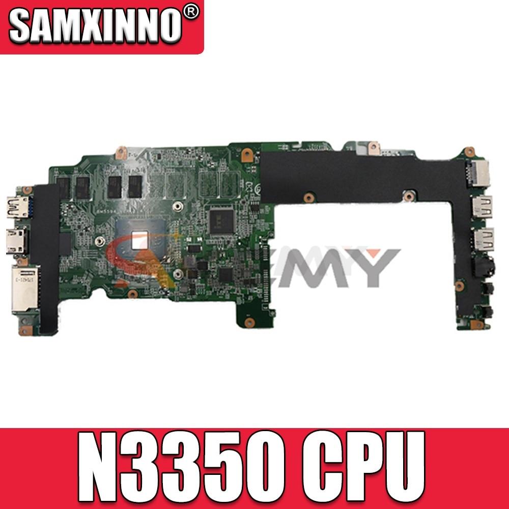 Akemy لينوفو ideapad فليكس 4-1130 فليكس 4 11 اللوحة الأم للكمبيوتر المحمول 5B20M36358 N3350 CPU