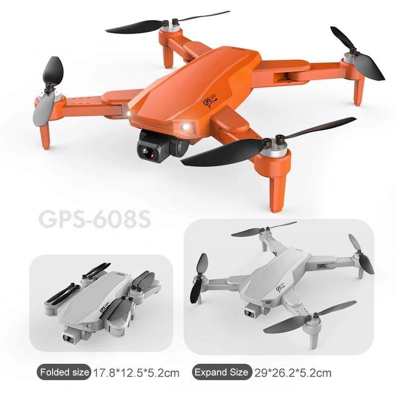 FITENK S608 GPS Drone 6K Dual HD Camera Professional Aerial Photography Dron Brushless Motor Foldable Quadcopter RC Distance 3KM enlarge