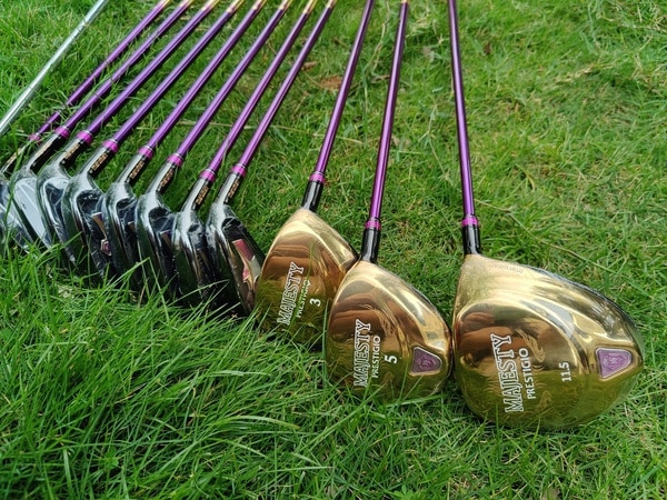 Women Golf clubs set Maruman Majesty Prestigio 9 Golf Complete Set 11.5 loft Club Graphite Golf shaft (no bag) Women Golf clubs