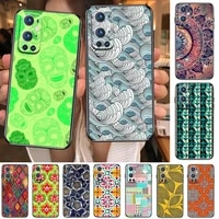 vintage indian floral henna mandala yoga ethnic for oneplus nord n100 n10 5g 9 8 pro 7 7pro case phone cover for oneplus 7 pro 1