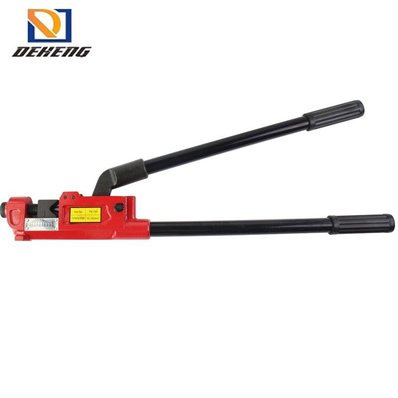 Ferramenta de compressão manual hacer travessão Modelo: TM-150 Tipo de friso Travessão...