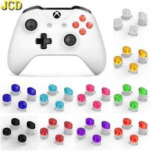 JCD 1 Набор сменных кнопок ABXY Mod Kit для контроллер для Xboxone прозрачная кнопка для Xbox One Slim / Elite Repair Part