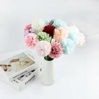 35pcs silk ball chrysanthemum artificial flower for home living room decoration fake flower wedding birthday decoration
