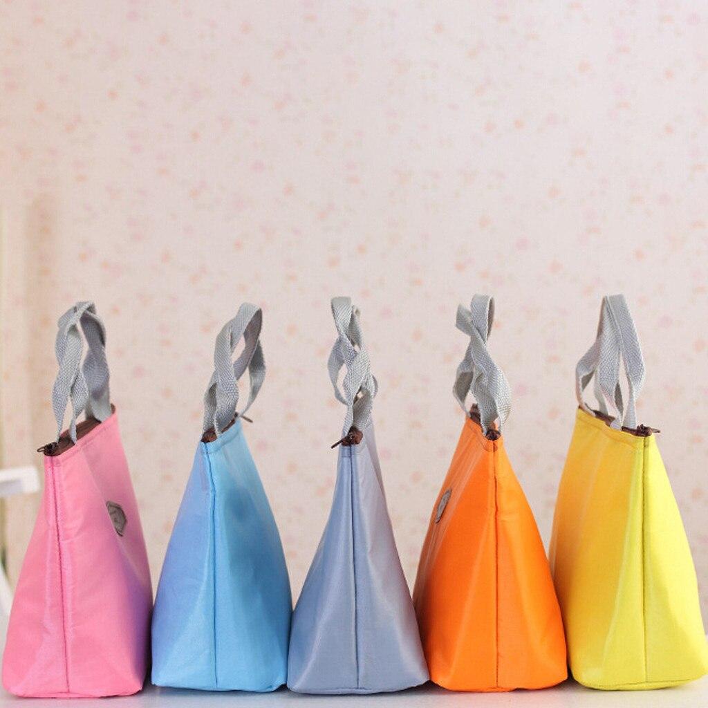 Nueva bolsa de caja de almuerzo para adultos para niños, bolsas de almuerzo con aislamiento, bolsas de Picnic, lonchera escolar #1,14