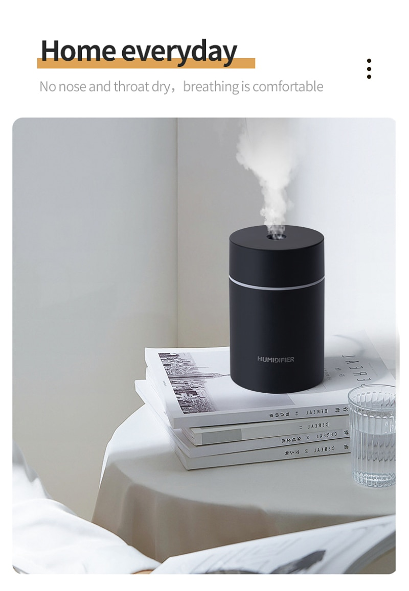 1pcs Connect Via USB Can Add Essential Oils Car Humidifier Diffuser Essential Oils Diffuser For Xiao