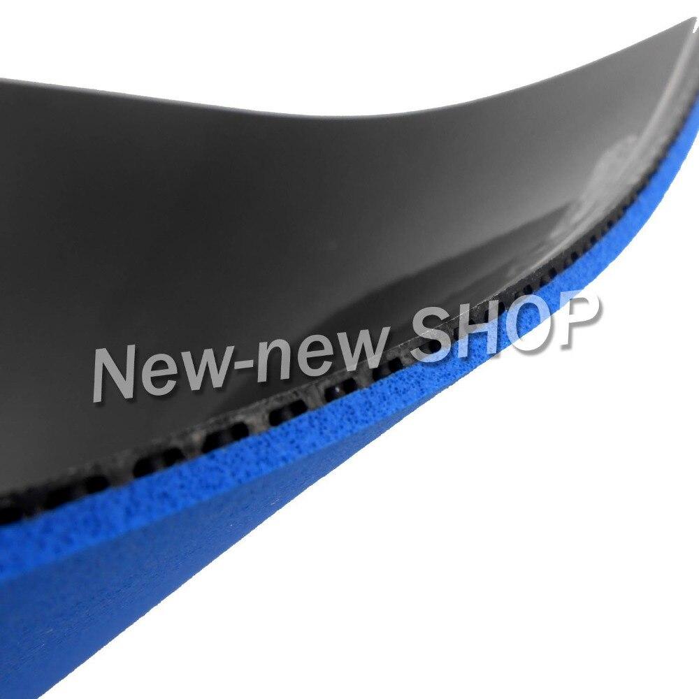 2x 61 ZWEITE BLITZ DS Training Version Pips Im Tischtennis Gummi mit Schwamm für tischtennis schläger