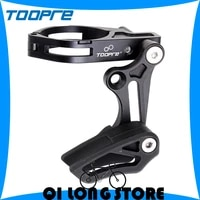 toopre bicycle chain guide positive negative tooth chain stabilizer mountain bike front derailleur chain press anti chain drop