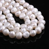 hot sale natural freshwater pearl potato shaped loose beads 11 12 mm for jewelry making diy bracelet earring necklace accessory