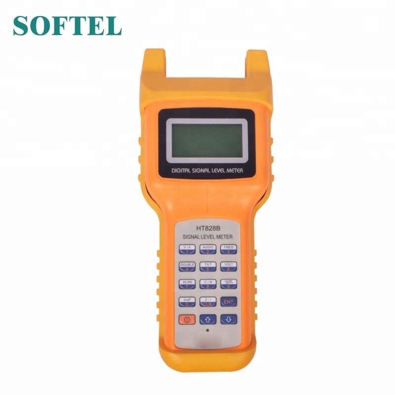 Medidor de nivel de señal Catv HT828B medidor de nivel de señal de TV