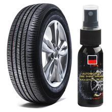 30LM Auto Tire Shine Spray Auto Wiel Tire Cleaning Opknappen Auto Waxen Band Polish Cleaner Onderhoud Auto Accessoires