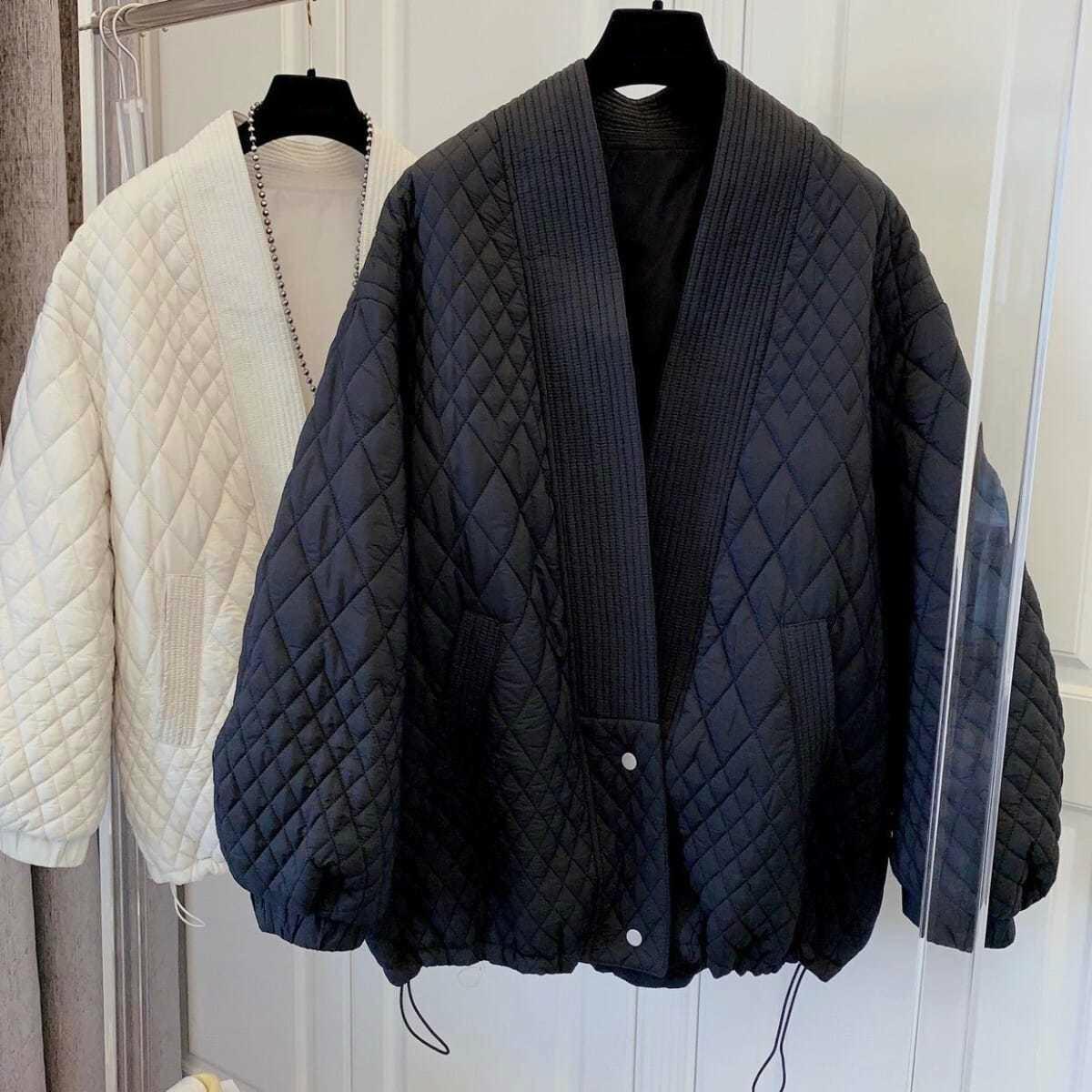 2021 Women Loose Parkas Causal Cotton Padded Coats
