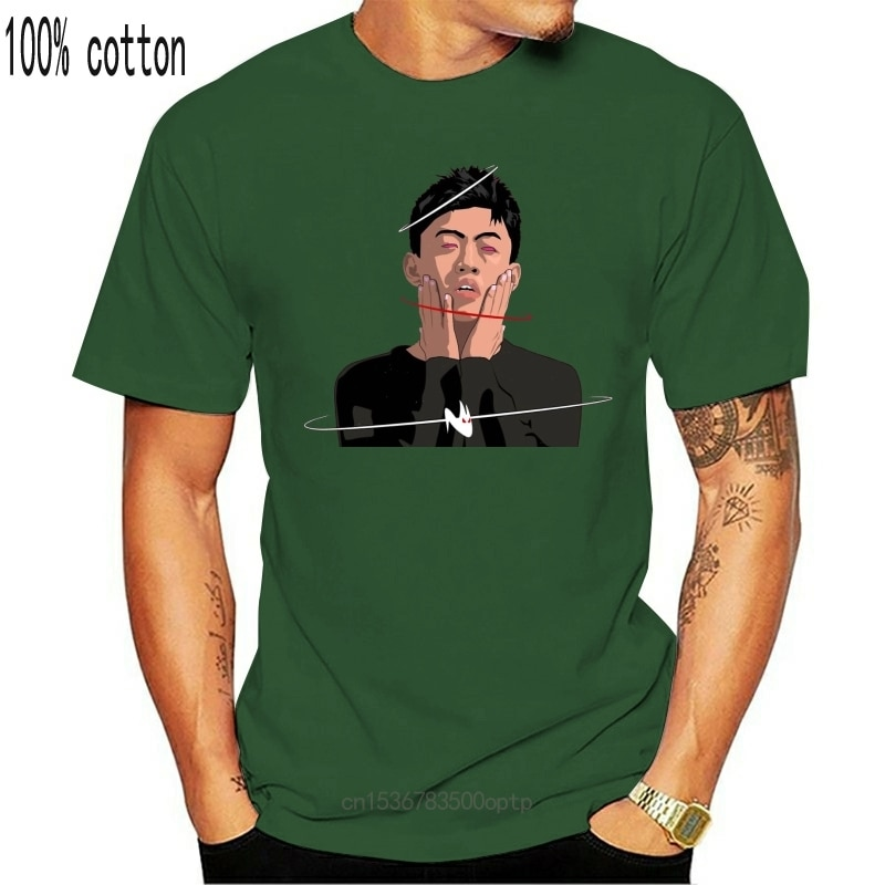 New Self-Satisfied Rich Brian Rich Chigga 88Rising White T-Shirt Size S - 3Xl Cotton Customize Tee Shirt