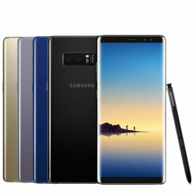 Samsung Galaxy Note8 Note 8 N950F 90% новая глобальная версия 6,3 дюйм 6 ГБ оперативной памяти, 64 Гб встроенной памяти, NFC, восьми ядерный процессор Exynos оригинальны...