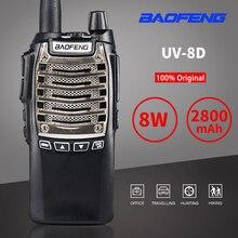 Baofeng UV-8D talkie-walkie 8W haute puissance Portable CB Radio Comunicador 10KM longue portée chasse communicateur HF émetteur-récepteur UV8d