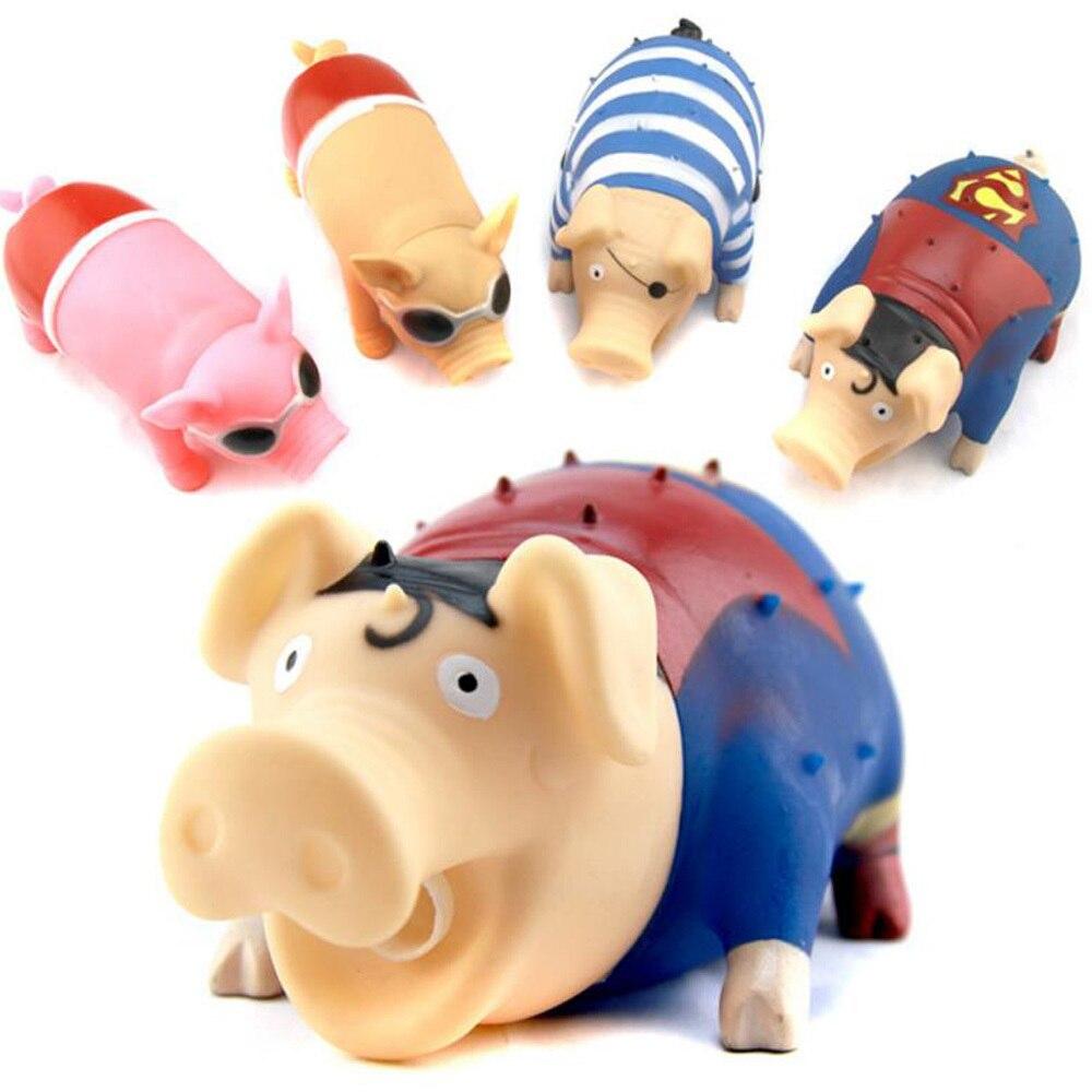 Новинка, кричащая свинья, декомпрессионные игрушки, искусственная игрушка, Свинья для взрослых и детей, искусственная свинья