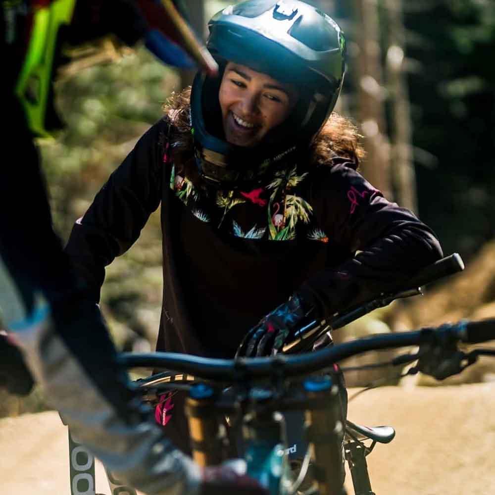 Camiseta de equipo para mujer, maillot de montaña, camiseta de Motocross, transpirable, secado rápido, largo, 2021