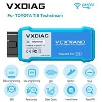 vxdiag vcx nano for to yo ta le xus tis techstream v15 00 026 compatible with j2534 support to year 2020 wifi version