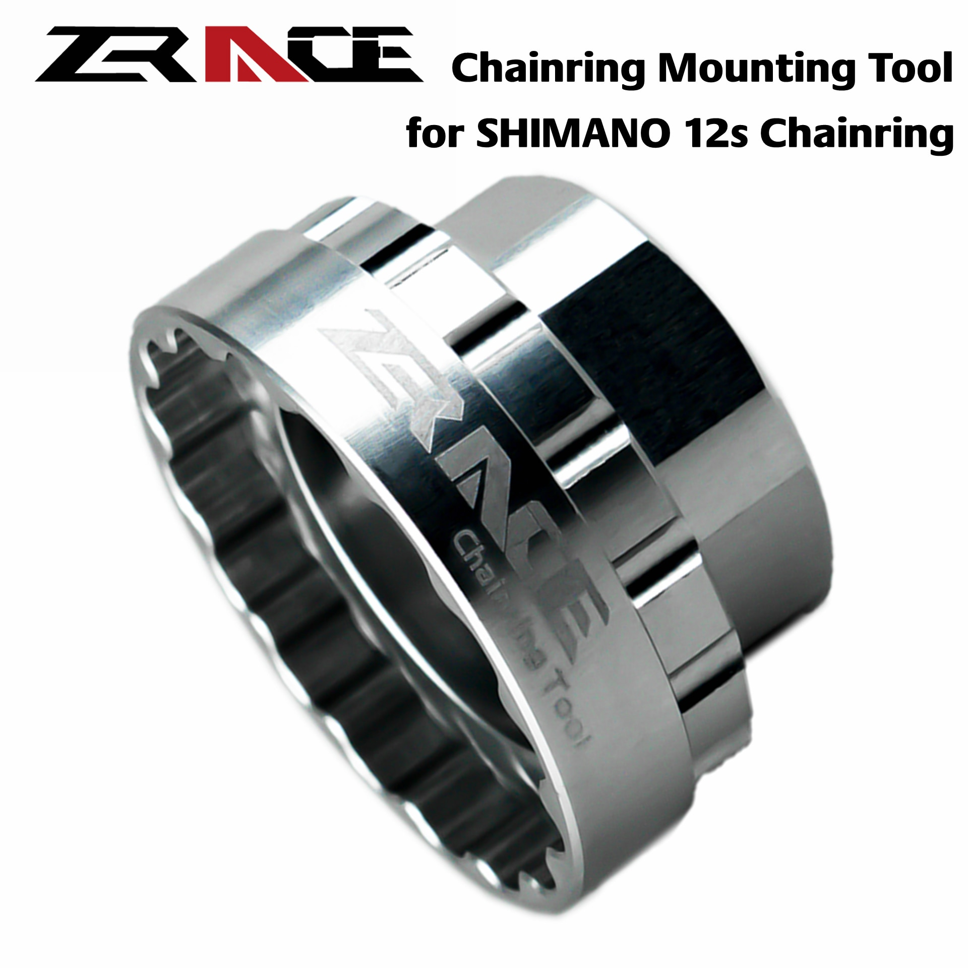 AliExpress - ZRACE Shimano 12s Chainrings Mounting Tool for SM-CRM95 / SM-CRM85 / SM-CRM75, TL-FC41 / FC41,Direct Mount Repair Tool Crankset