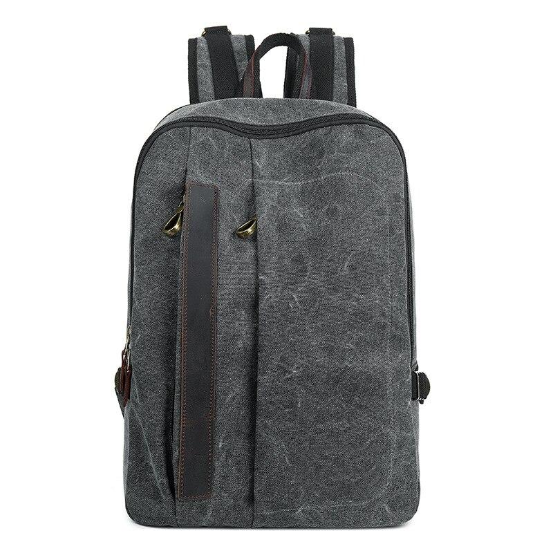 جودة عالية قماش بتصميم قديم حقيبة ظهر تصميم مناسبة للطلاب العالمي حقيبة لابتوب حقيبة ظهر رجالية