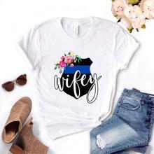 Police femme floral Femmes tshirt Coton décontracté t-shirt Drôle Cadeau Pour Dame Yong haut pour fille Tee PM-47
