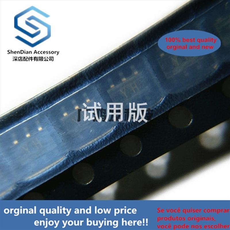 10 Uds 100% original nuevo RN2607 doble PNP compuesto band-stop transistor SOT-163 SOT23-6