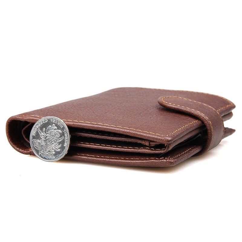 Bolso de Moedas com Zíper Bolsa de Couro Titular do Cartão de Capa de Passaporte para os Homens Lote Rfid Bloqueando Carteira Longo Genuíno Bolsa 12 Pçs –