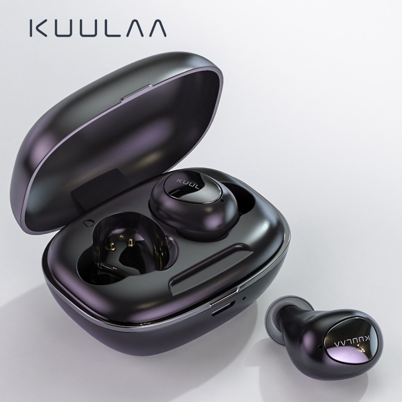 KUULAA TWS, auricular Bluetooth, auriculares inalámbricos, Bluetooth 5,0, manos libres, auriculares para juegos, Auriculares Bluetooth en el oído, Auriculares deportivos