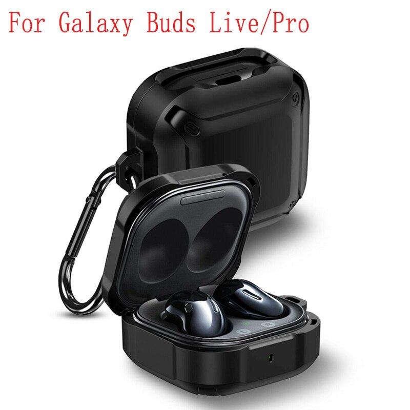 Funda de silicona blanda para auriculares Samsung Galaxy carcasa protectora de Color...