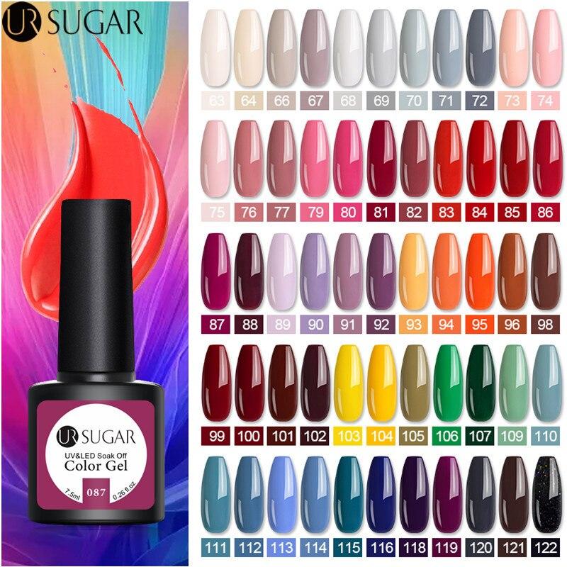Azúcar UR-esmalte de uñas en Gel UV, laca de Gel semipermanente para...