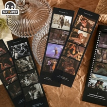 Mr Paper 4 Designs 5 Pcs/bag Vintage Retro Style Movie For You Series Creative Hand Account DIY Deco Collage Material Stickers