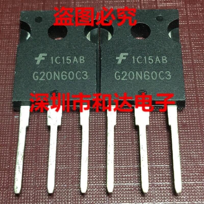 5pcs G20N60C3 HGTG20N60C3 TO-247