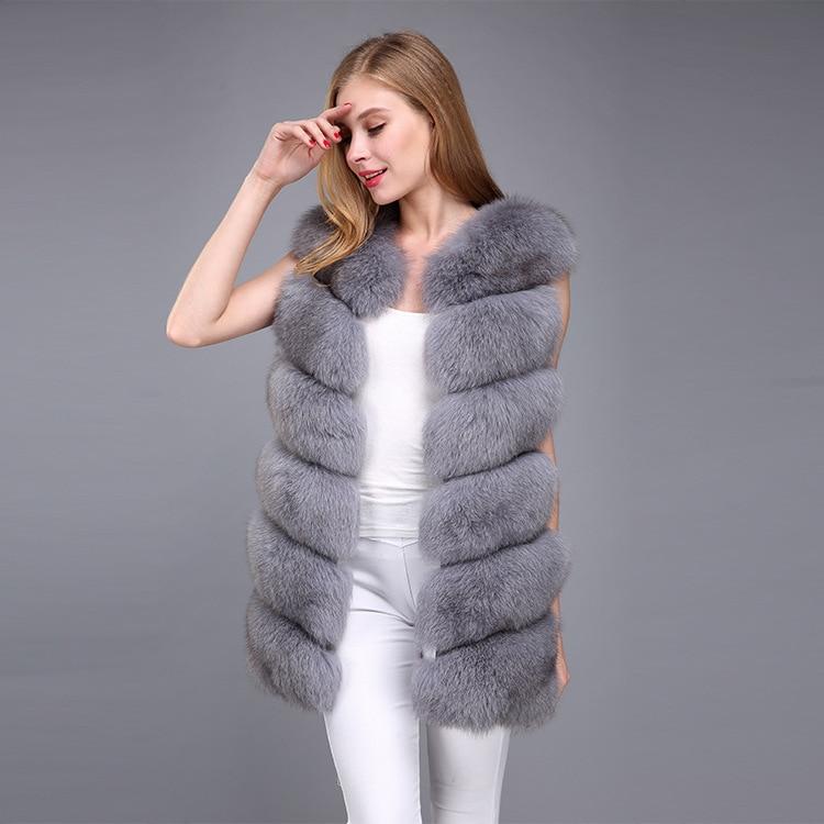 women's vest real fur vest slim-line high-quality natural fox fur vest vest real fox fur real fur jacket fox fur vest fur jacket фото