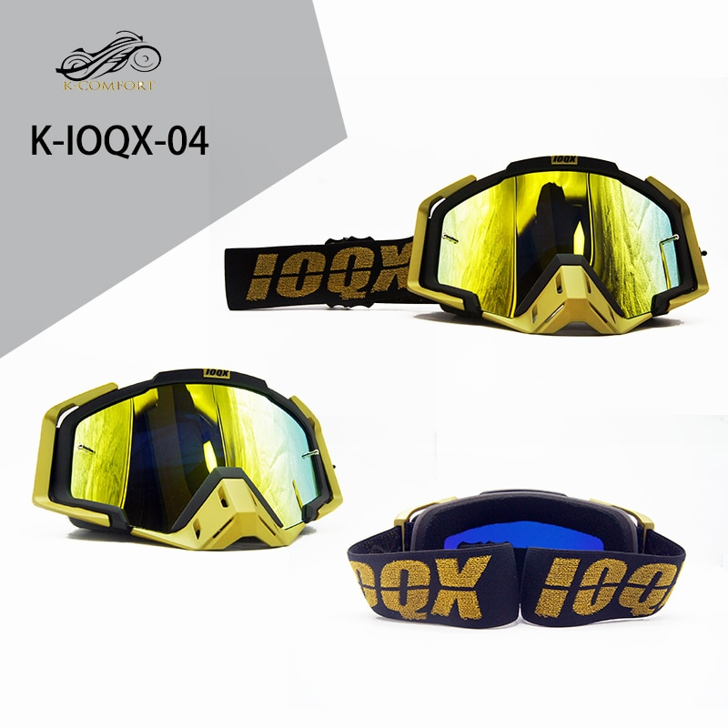 IOQX Motorcycle Goggles Off Road ATV Motocross Goggles Dirt Bike Gafas Downhill Lunette Moto Cross Country Motorcycle Glasses enlarge