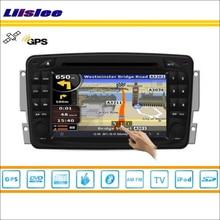 Liislee voiture GPS Navigation Navi pour Mercedes Benz A W168 1997 ~ 2004 Radio stéréo TV DVD iPod BT HD écran S160 système multimédia