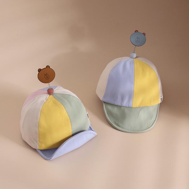 Детские шапки, весенне-летние Разноцветные бейсболки с героями мультфильмов, Детские бейсболки, летние солнцезащитные шляпы от солнца