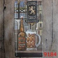 wine carplates letters retro vintage metal tin signs license wall art craft cafe pub 612 inch