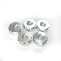 5pcs 18 npt pipe thread weld bung adapter aluminum weld on bung pipe fitting